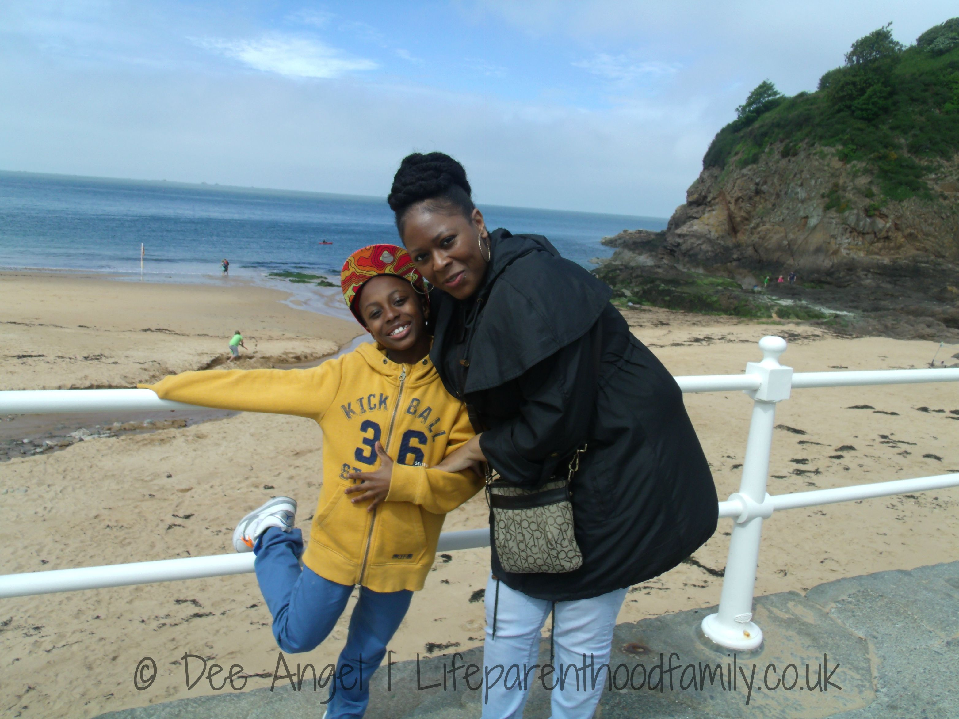 Ky and I in Jersey | Lifeparenthoodfamily.co.uk