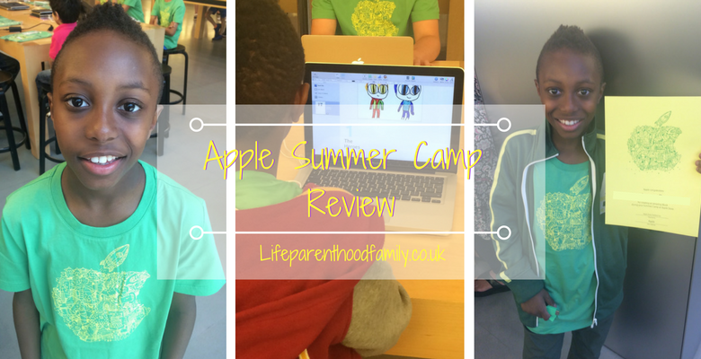Review: Apple Summer Camps | Lifeparenthoodfamily.co.uk