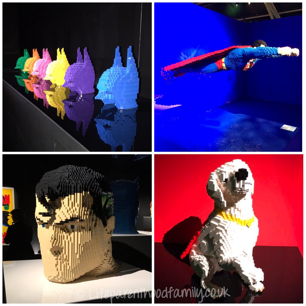 The Art of the Brick: DC Super Heroes Collage | Lifeparenthoodfamily.co.uk