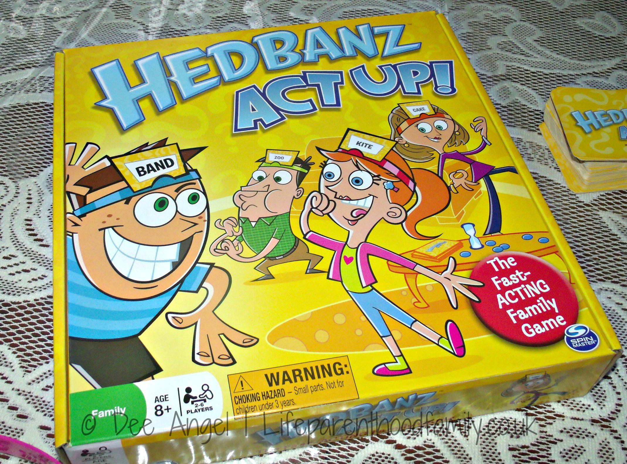 Hedbanz Act Up Game  Lifeparenthoodfamily.co.uk