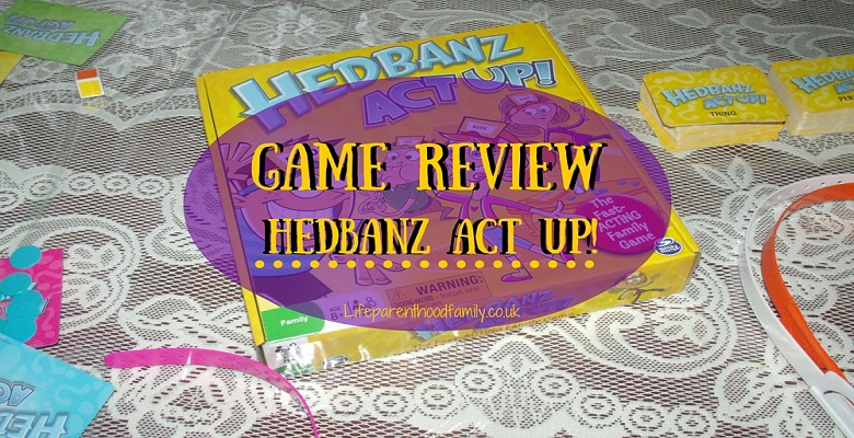 Game Review: Hedbanz Act Up! | Lifeparenthoodfamily.co.uk