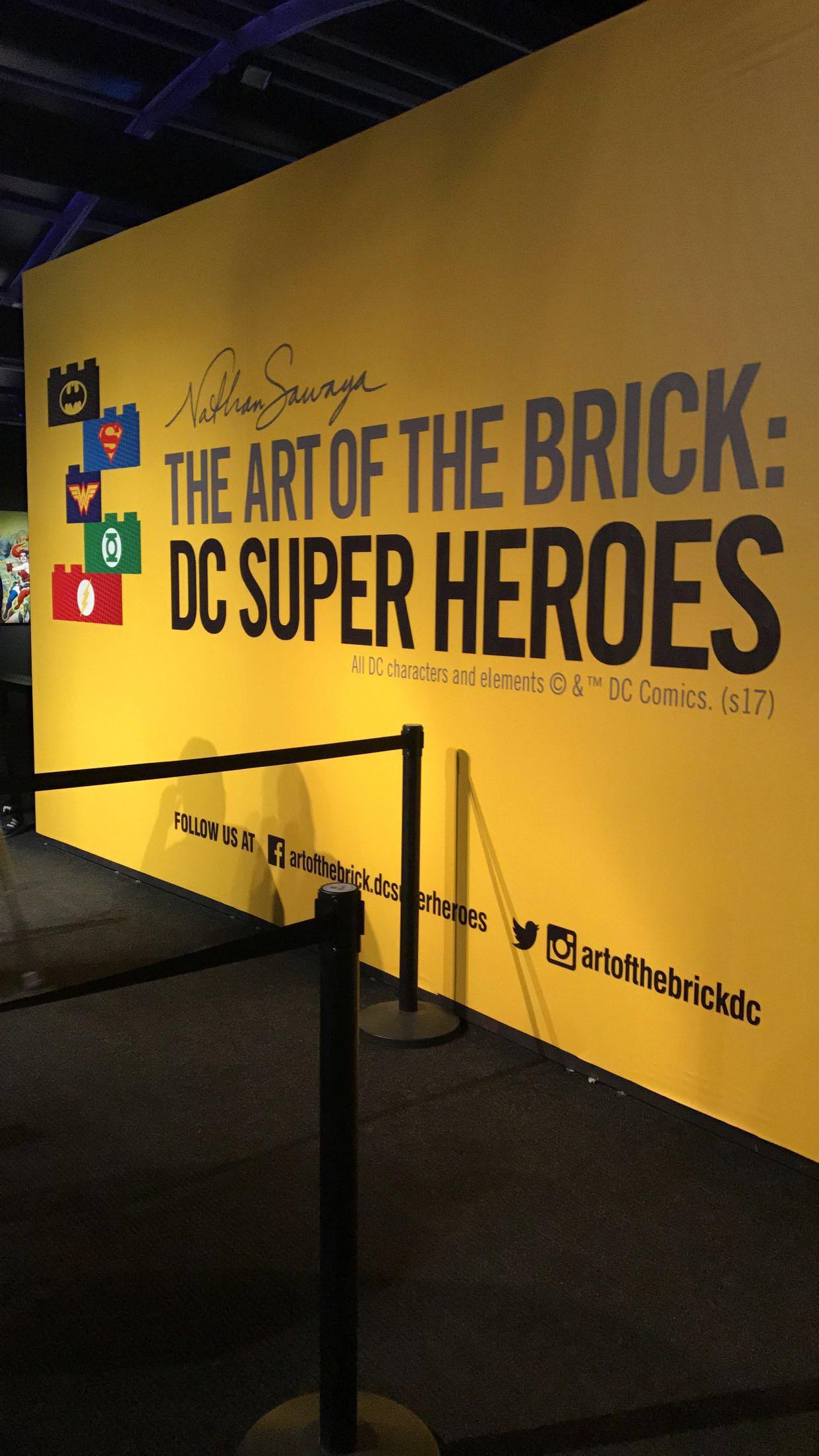 The Art of the Brick DC Super Heroes | Lifeparenthoodfamily.co.uk